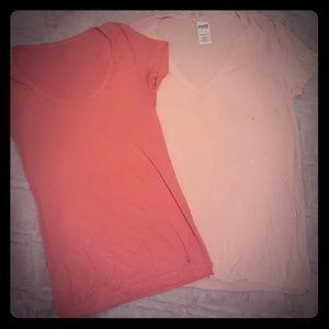 2 Victoria Secret T-Shirts